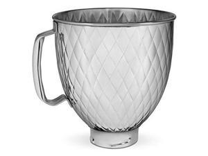 KitchenAid KSM5SSBQB 5QT SS Stand Mixer Bowl, 5 quart, Quilted Stainless Steel
