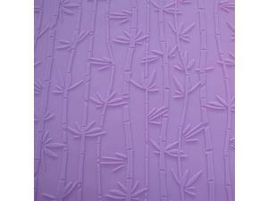 NY Cake Fondant Impression Mat, Bamboo Design- Silicone