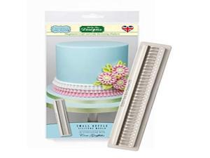 Small Ruffle Silicone Royal Icing Mold, Ceri Griffiths Creative Cake System for Decorating, Sugarpaste, Fondants, Candies and Crafts, Food Safe