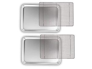 """Last Confection Stainless Steel Baking /& Cooling Rack 8-1//2/"""" x 12/"""" Fits Quart"""