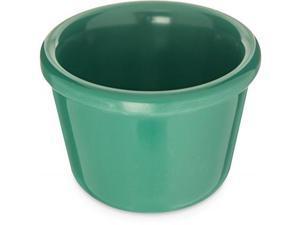 Carlisle S28509 Melamine Smooth Ramekin, 4 oz. Capacity, Green (Case of 48)
