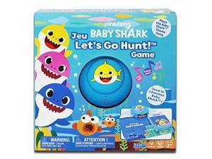 Cardinal Games Pinkfong Baby Shark Let's Go Hunt Board Game, Multicolor