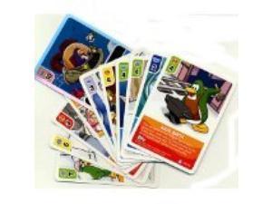 Club Penguin 25 New Card Jitsu Cards + Super Power Foil + Sticker Sheet for Dress Up a Penguin Card
