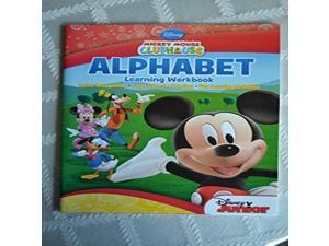 Mickey Mouse Clubhouse Alphabet Learning Workbook