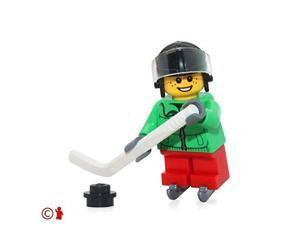 LEGO Holiday MiniFigure - Ice Hockey Player Boy (From Advent Calendar 60133)
