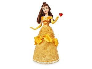 Disney Store Belle Classic Doll with Ring - Beauty and the Beast - 11 1/2'' 2018 Version