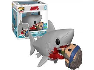 FunKo POP! Movies Jaws: Shark Biting Quint Figure - 2019 Convention Exclusive