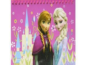Disney Frozen Elsa and Anna Spiral Autograph Book and 1 Pen