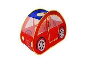 GigaTent Sports Car Play Pop-Up Tent - Portable Pretend Race Vehicle Kiddie Playhouse - Innovative Adventure Fun Toy for Kids Children All Ages