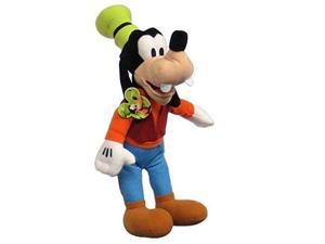"""Disney New Mickey Mouse Club House Goofy 17"""" Soft Licensed Plush Doll"""