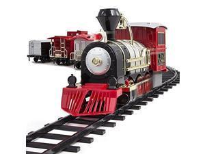 FAO Schwarz 30 Piece Motorized Train Set with Sound