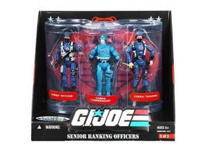 GI Joe Senior Ranking Officers: Cobra Commander, Officer, & Trooper