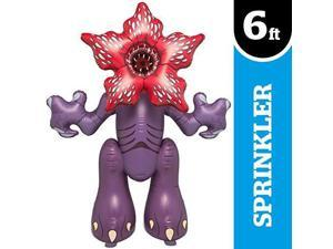 BigMouth Inc. Stranger Things Demogorgon Yard Sprinkler, Huge 6.5 Foot Tall Inflatable Sprinkler with Stranger Things Theme, Easy to Inflate/Deflate and Clean, Makes a Great Gift Idea