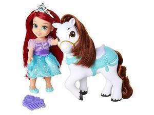 Disney Princess Ariel Doll & Seahorse