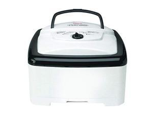 nesco fd80a, squareshaped dehydrator, white speckled, 700 watts