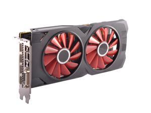 XFX Radeon RX 570 Black Edition DirectX 12 RX-570P8DBD6 8GB 256-Bit DDR5 PCI Express 3.0 CrossFireX Support Video Card