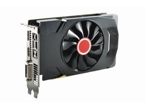 XFX RX-560D4SFG5 Radeon RX 560 4GB GDDR5 - 1196 MHz Core - 14 CU - Dual Slot Space Required Graphic Card