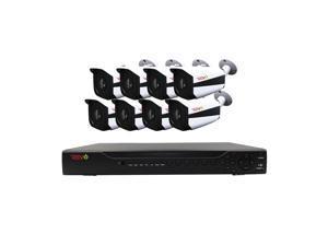 Lechange DK84R042 8CH 2TB Network DVR Security Surveillance System W/ 4  Cameras - Newegg com