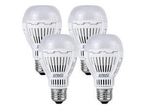 13W (100 Watt Equivalent) LED Light Bulbs, 5000K Daylight Super Bright 1600 Lumens LED Bulbs, Non-Dimmable, A19 LED Light Bulbs, E26 Medium Screw Base, 4-Pack, SANSI