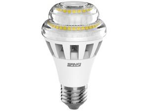 SANSI 13.5W LED Light Bulb, 3000K Warm White,1100lm, A19, E26 Medium Base, Omni-directional LED Light Bulb for General Lighting, Dimmable, Energy Star and UL Listed