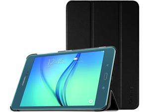 Fintie Samsung Galaxy Tab A 8.0 Smart Shell Case - Ultra Slim Lightweight Stand Cover with Auto Sleep/Wake Feature for Samsung Galaxy Tab A 8-Inch Tablet SM-T350, Black