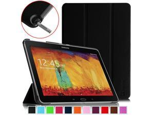 Fintie Case for Samsung Galaxy Note 10.1 2014 Edition - Slim Lightweight Stand Shell Cover, Black