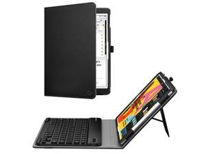 Fintie Keyboard Case with for 2019 iPad 10.2 Inch ( 7th Gen) - Protective Folio Cover with Keyboard, Black