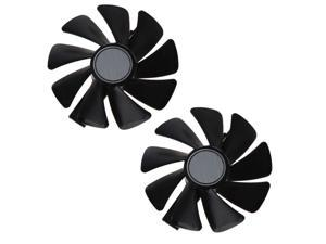 2Pcs CF1015H12S 12V 0.42A Cooler Fan Replacement For Sapphire NITRO RX 580 570 480 470 Graphics Card Fans