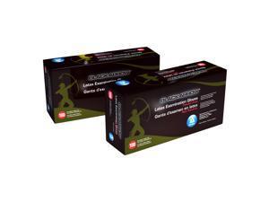 Black Arrow™ Latex Examination Gloves – Powder-Free- X Large 100 per Box.