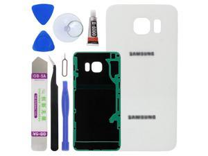 with Tool Kit for Samsung Galaxy S6 Edge+ Rear OEM Silver Housing