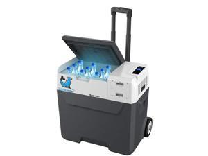 LiONCooler 52-Quart Outdoor Solar Freezer and Cooler & Fridge, Solar/AC/Car Charging Battery and Compressor Built-in