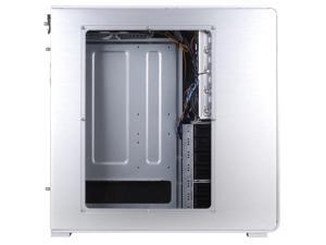 Silverstone Technology FT01S-W Aluminum ATX Mid Tower Uni-Body Computer Case with Window Side Panel, Fortress Series