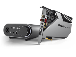 Creative Labs Sound Blaster AE-9 PCIe Sound Card With Audio Control Module