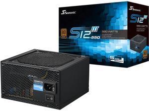 Seasonic Ssr-550Gb3 Seasonic Ps Ssr-550Gb3 S12Iii 550 550W 80+ Bronze Atx 12V W