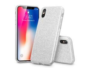 iPhone X, Glitter Sparkle Bling Case by ESR, [Three Layer Protection] [