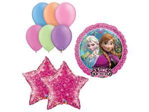 Frozen Birthday Party Singing Balloon Kit Bouquet Disney