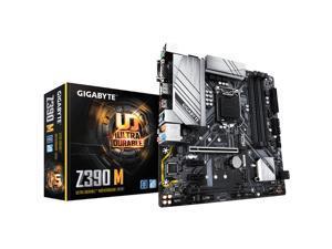 Z390 M LGA 1151 Intel Z390 DDR4 Micro ATX Motherboard (Z390 M)