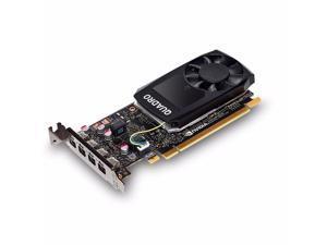 NVIDIA Quadro P1000 - Graphics card - Quadro P1000 - 4 GB GDDR5 - PCIe 3.0 x16 low profile - 4 x Mini DisplayPort - reta