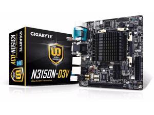 GIGABYTE GA-N3150N-D3V Intel Celeron N3150 1.6 GHz Mini ITX Motherboard/CPU Combo