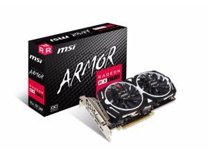 MSI Armor OC Radeon RX 570 4GB GDDR5 PCI-E x16 Graphics Card