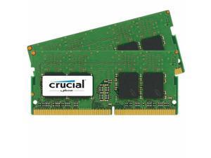 Crucial 8GB Kit (2x4GB) DDR4-2400 SODIMM CT2K4G4SFS624A