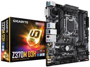 Gigabyte Intel Z370M D3H Socket LGA 1151 DDR4 Micro ATX Motherboard (Z370M D3H)