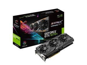 ASUS GeForce GTX 1070 Ti ROG Strix Gaming 8GB PCI-E 3.0 GDDR5 Graphics Card (90YV0BI1-M0NA00)