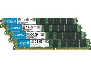 Crucial 64GB (4 x 16GB) 2666 MHz CL19 1.2v ECC DDR4 Memory (CT4K16G4VFS4266)