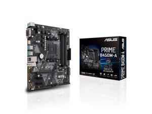 ASUS PRIME B450M-A AM4 AMD B450 SATA 6Gb/s USB 3.1 HDMI Micro ATX AMD Motherboard