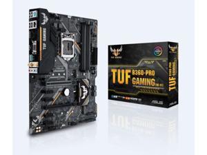 ASUS Intel TUF B360-PRO GAMING (WI-FI) Socket LGA 1151 DDR4 ATX Motherboard (90MB0XI0-M0EAY0)