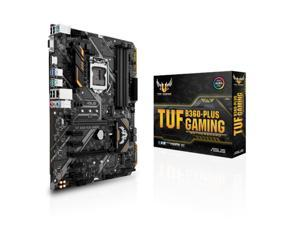 ASUS Intel TUF B360-PLUS GAMING Socket LGA 1151 DDR4 ATX Motherboard (90MB0X10-M0EAY0)