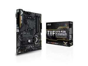 ASUS AMD TUF X470-PLUS GAMING Socket AM4 DDR4 ATX Motherboard (90MB0XL0-M0EAY0)
