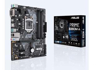 ASUS Intel PRIME B360M-A Socket LGA 1151 DDR4 Micro ATX Motherboard (90MB0WQ0-M0EAY0)