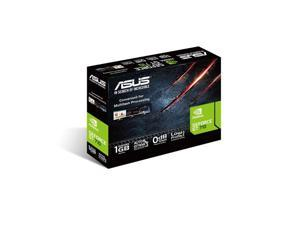 ASUS GT710-SL-1GD5-BRK - Graphics card - GF GT 710 - 1 GB GDDR5 - PCIe 2.0 low profile - DVI, D-Sub, HDMI - fanless